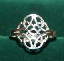 Lovely Celtic Knot Sterling Silver Ring