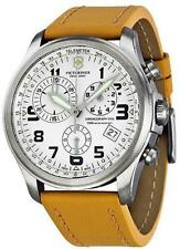 Swiss Army Victorinox Infantry Leather Chronograph Mens Watch 241579