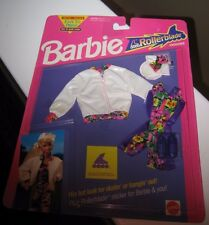 BARBIE EASY TO DRESS ROLLERBLADE FASHIONS - NEW IN PKG