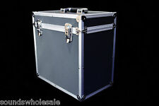 "DJ 12"" RECORD BOX / FLIGHT CASE HOLDS 50 BLACK +24HDEL"