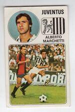 figurina - CALCIATORI PANINI 1976/77 NEW - NUMERO 165 JUVENTUS MARCHETTI