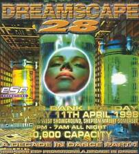 DREAMSCAPE 28 - A DECADE IN DANCE PART 1 (HARDCORE CD'S) 11TH APRIL 1998
