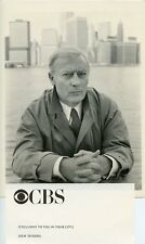 EDWARD WOODWARD NEW YORK CITY SKYLINE PORTRAIT THE EQUALIZER 1986 CBS TV PHOTO