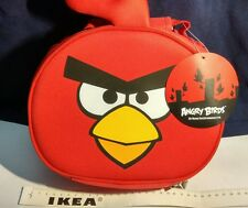 Angry birds    LUNCH BAG    limited & rare, insulated with aluminium foil