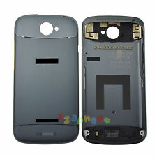 TOP + BOTTOM + REAR BACK BATTERY DOOR COVER CASE HOUSING FOR HTC ONE S Z520e GRY