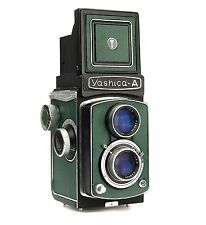 Yashica A (late version) Replacement Cover - Laser Cut Recycled Leather