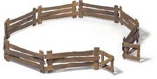 Schleich Bauernhof Set 42006 Gatter Zaun für  Pferdehof Farm Zoo Schleichtiere