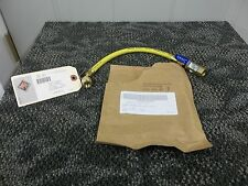 "YELLOW JACKET PLUS II CHARGING LINE HOSE 1/4"" AC REFRIGERANT VALVE 12"" 21012 NEW"
