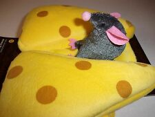 MOUSE CHeese Costume Halloween new Small puppy pet Petco S O/S dog kitty rider