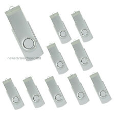 Lot 10 4G 4GB USB Flash Drive Memory Pen Key Stick Bulk Wholesale White 03