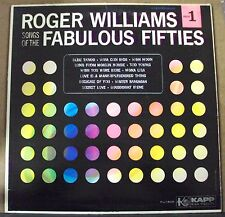 ROGER WILLIAMS Songs of the Fabulous 50's LP OOP mono