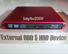 USB 3.0 External Panasonic UJ-240 3D Blu-Ray Burner Writer BD-RE DVD RW Drive