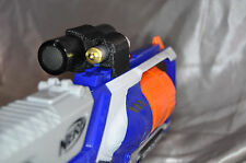 Flashlight laser sight combination NERF tactical rail  custom mod accessory