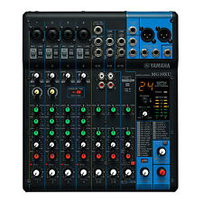 Yamaha MG10XU 10-Channel Mixing Console with Built-In FX