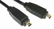 1m FIREWIRE 400 iLink DV 4-4 4 Pin Cavo IEEE 1394 a 1 metri di Piombo