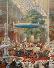 Opening of the Great Exhibition, 1 May Eugene Louis Lami Ausstellung B A3 01721