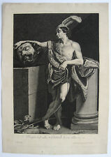 Guido Reni David mit dem Haupte Goliaths David holding the head of Goliath