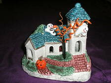 Halloween Ghost Lighted House with Eerie Sound style 1