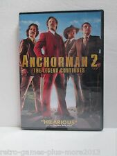 Anchorman 2: The Legend Continues (DVD, 2014) Region 1 (New with Defect) NTSC