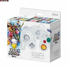 Smash Bros White GameCube Themed Controller For Wii U Official Nintendo Product