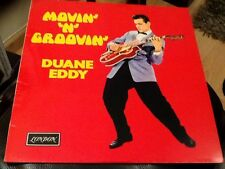 DUANE EDDY . MOVIN N GROOVIN .  LONDON RECORDS  NEW . UNPLAYED . GREATEST HITS
