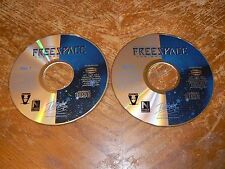 Descent Freespace The Great War PC 2 CD-ROMs Volition Interplay 1998 Windows 95