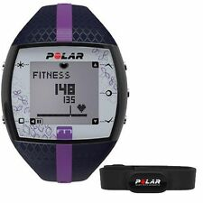 Polar FT7 Fitness Heart Rate Monitor Blue Lilac 90048735 Women's HRM Size XXXL