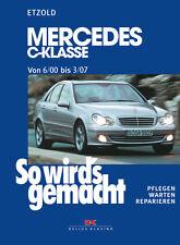 MERCEDES CLASSE C 2000-2007 W203 MANUALE RIPARAZIONE SO WIRDS GEMACHT 126