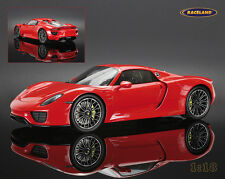 Porsche 918 Spyder 2013 geschlossen / closed, Spark Model 1:18 NEW OVP