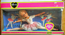 Vintage boxed Pedigree Active ballerina blonde Sindy doll 1981 stand 44663U