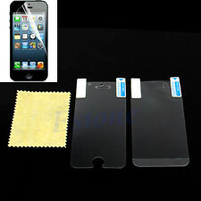 5pcs Anti Glare Matte Clear HD Screen Protector Guard Film For Apple iPhone 5S