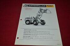 Caterpillar 966 Series C Wheel Log Loader Dealer's Brochure DCPA6 ver