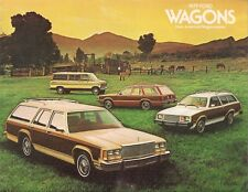 Ford Pinto Fairmont LTD Club Station Wagon 1979 USA Market Sales Brochure