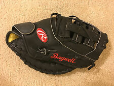 Jeff Bagwell Black Rawlings Model Pro FM-20 Glove Game Issued Mitt