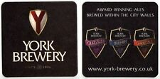 UK Beer Mat /Coaster - York Brewery - Yorkshire