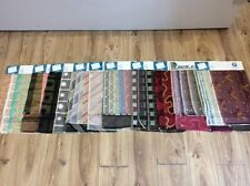 SAMPLES OF SILK INTERIOR FABRIC FOR CREATIVE ARTS & CRAFTS STYLE x10 swatches