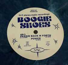 """BOOGIE SHOES - Passin Back N Forth - 12"""" Maxi 1995 Lim. Colored Vinyl"""