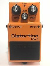 80's BOSS DS-1 Distortion Vintage Made In Japan Guitar Effect Pedal TA7136AP