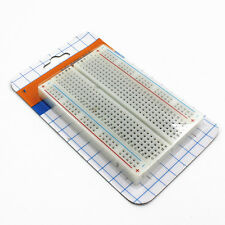 DIY Prototype Solderless Breadboard Electronic Test Bread Board 400 Connect New