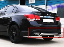 Rear Diffuser Bumper Guard Two-tone Gasoline For 2012 2013 2014 CHEVROLET CRUZE