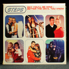 Steps - Say You'll Be Mine - Better The Devil You Know - music cd EP