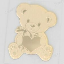 TPD 24K Gold Plated Anti Radiation Block Shield Sticker Cute Bear Smart Phone