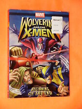 PRISTINE Wolverine and the X-Men Beginning of the End WS DVD FAST SHIPPER