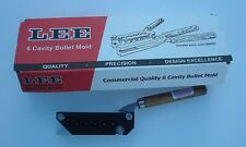 LEE Mold 6 Cavity Mold TL358-158-SWC New in Box #90295