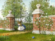 Wee Forest Folk Alice in Wonderland Litho Ltd Ed