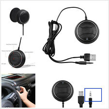 Car Stereo Music Receiver Phone Handfree 3.5mm AUX NFC Bluetooth USB Charger Kit