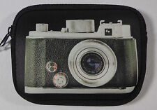 Vintage Leica SLR Printed Soft Zip Digital Camera Case STOCKING STUFFER ❤️ USA