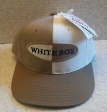 VINTAGE MLB BASEBALL CHICAGO WHITE SOX YOUTH SNAPBACK CAP HAT NWT Annco TAN