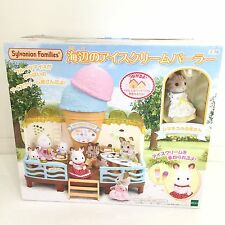 Sylvanian Families JP (Calico Critters US) Seaside Ice Cream Set Complete in Box