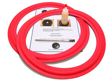 "2 Cerwin Vega 15"" Angle-Attach Speaker Foam Surround Repair Kit - 2CV15A"